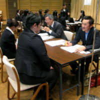 Japan's jobless rate in February fell to 2.3%, lowest in nine months