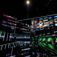 Phil Spencer, Microsoft Corp.'s executive vice president of gaming, speaks at one of the company's Xbox events in this undated photo released from Microsoft Corporation in Redmond, Washington, Thursday. | COURTESY MICROSOFT CORP. / HANDOUT / VIA REUTERS