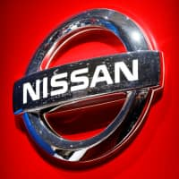 A Nissan logo is displayed at the 89th Geneva International Motor Show in Geneva on March 5. | REUTERS