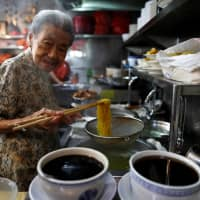Singapore noodle vendor, 90, helps keep foodie culture alive as UNESCO listing eyed for 'hawker' stalls