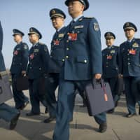 China vows 'reasonable' rise in defense spending ahead of budget's release