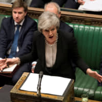 'Time's up, Theresa'? Prime Minister May urged to set her own exit date to get Brexit deal