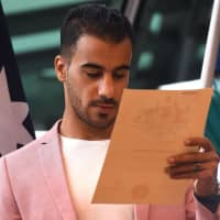 'I'm an Aussie': Refugee soccer player Hakeem al-Araibi granted Australian citizenship
