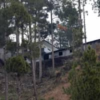 A building that residents say was a madrassa religious school is seen near the site where Indian military aircraft struck the Pakistani village of Balakot on Feb. 26. | REUTERS