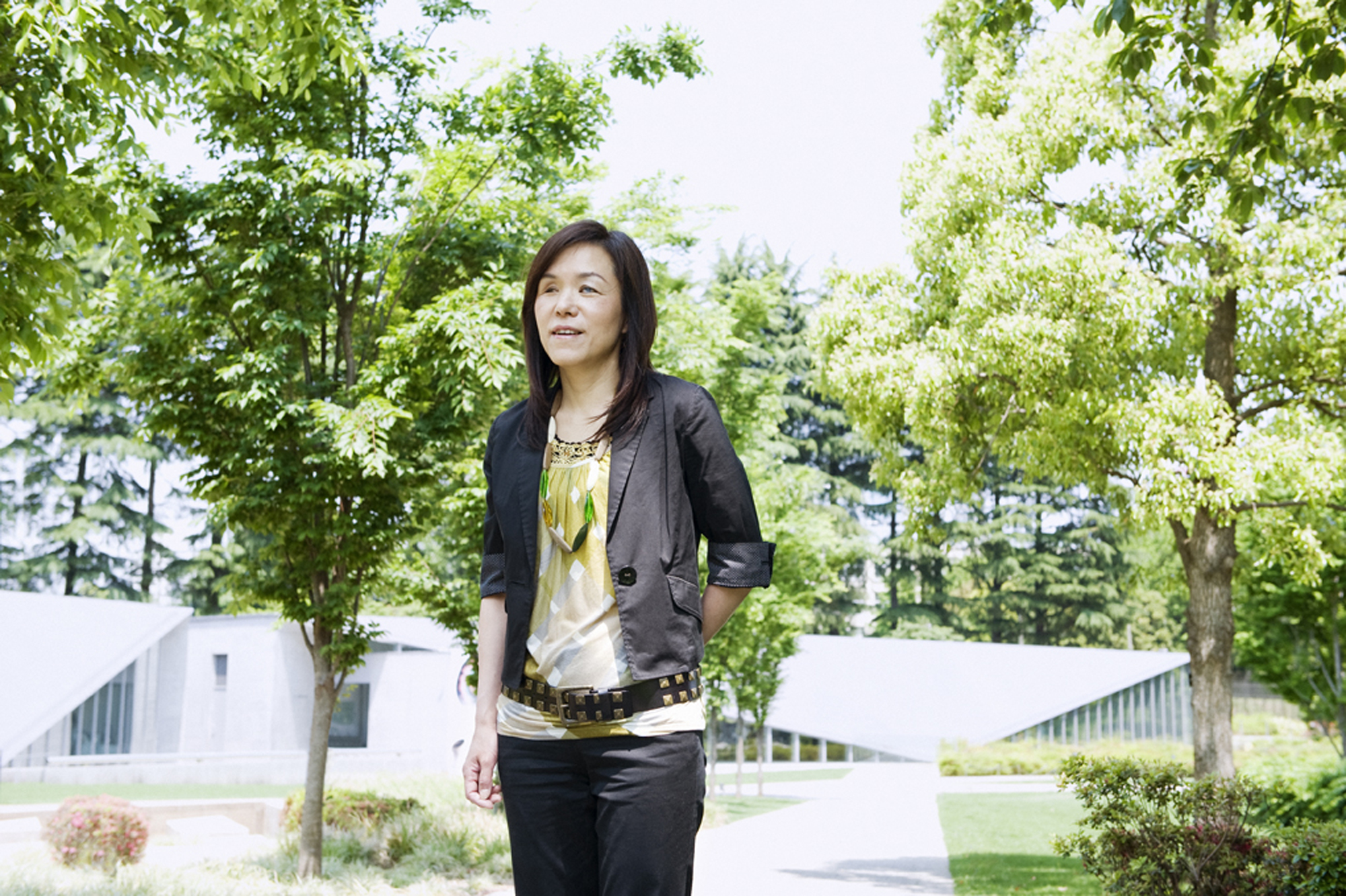 Chieko Asakawa, an Osaka-born computer scientist, is among 19 innovators who will be inducted into the U.S. National Inventors Hall of Fame in Washington in May. | COURTESY OF IBM