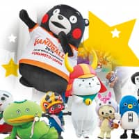 Municipalities compete hard to win the annual Yuru-kyara Grand Prix, but the mascot contest has become so heated that some cities are cheating. | CHUNICHI SHIMBUN