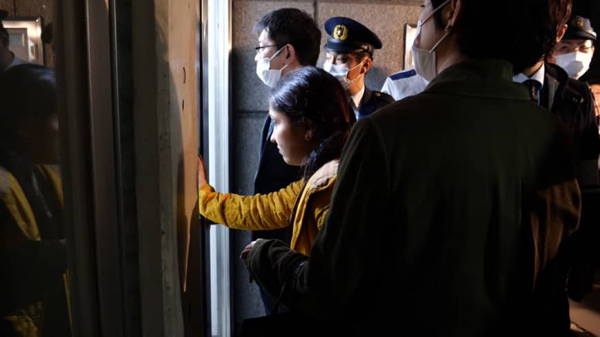 Did Tokyo immigration officials allow proper treatment for ailing Kurdish detainee?