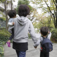 This year's extended Golden Week holiday in Japan is a headache for many working parents