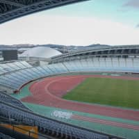 Miyagi Stadium in the town of Rifu, Miyagi Prefecture, will host soccer matches during the Tokyo Olympic and Paralympic Games in 2020. | MAGDALENA OSUMI