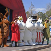 Moomins are settling in Saitama: Cuddly characters' first theme park in Japan to open March 16