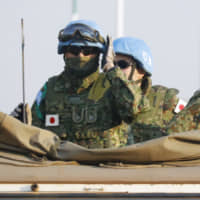 With April dispatch to Egypt, Japan eyes first overseas SDF mission not under U.N. command