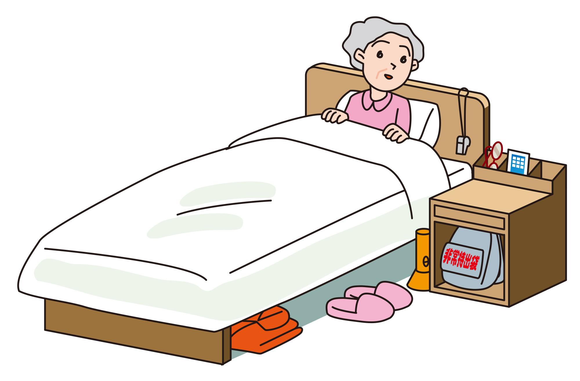 Better safe than sorry: Keep some items by your bed in case an earthquake hits in the night. | GETTY IMAGES