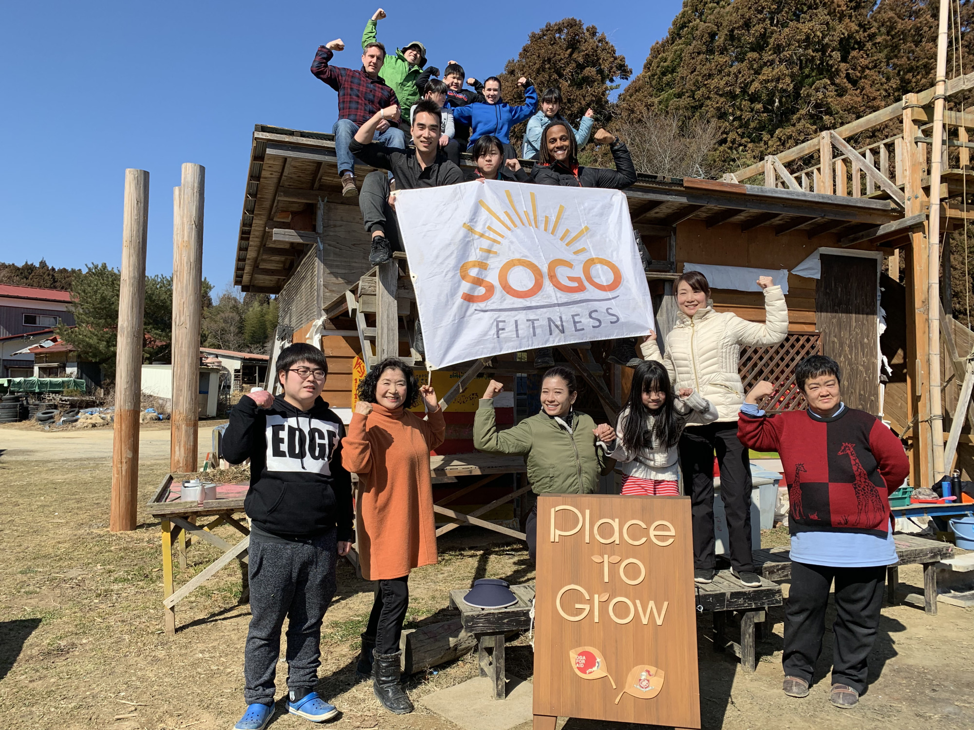 Continuing support: Place to Grow is helping to make a difference in Tohoku. | COURTESY OF PLACE TO GROW