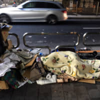 'No one wants to be homeless': A glimpse at life on the streets of Tokyo