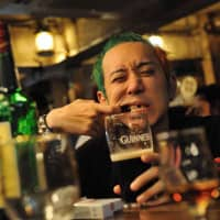 Go Yamada, a tin whistle player with punk band Junior, became obsessed with Irish culture via his interest in music. | COURTESY OF GO YAMADA