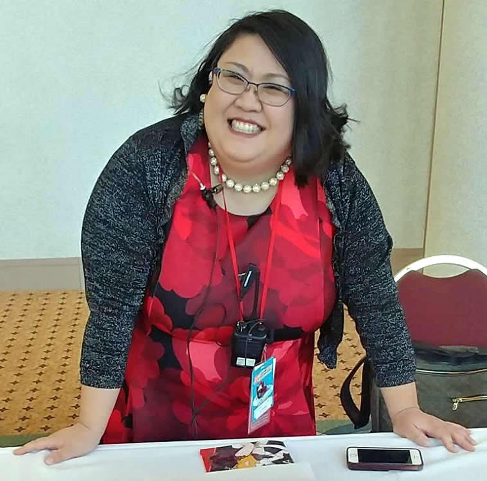 A. Jinnie McManus, founder of We Run Anime Cons says 'bad behavior' at cons had been excused because of the adoration of their fans, but 'Those days appear to be over.' | COURTESY OF A. JINNE MCMANUS