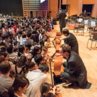 Start them young: Some of La Folle Journee's events are aimed at introducing children to classical music. | © TEAMMIURA