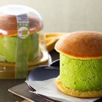 Get your fill of green tea with Seven-Eleven's mile-high matcha dorayaki