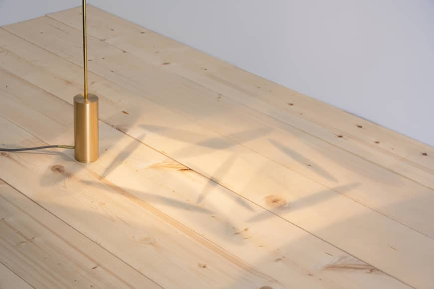 A feature of the Suki series of lights are the shadows cast when lit.