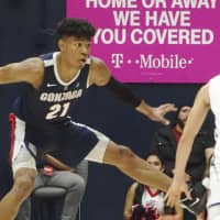 Gonzaga announcer Tom Hudson  full of praise for Rui Hachimura