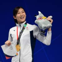 Swimmer Rikako Ikee remains determined to compete during next summer's Olympic Games in Tokyo. | AFP-JIJI