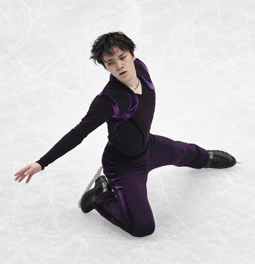Shoma Uno is in sixth place after the men