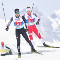 Japan fails to end podium drought in Nordic combined team event at worlds