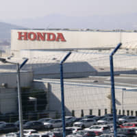 Honda Motor Co.'s Turkish plant on the outskirts of Istanbul on Feb. 19 | KYODO