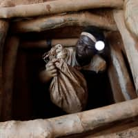 More than 40 million people work in artisanal mining, digging precious ore by hand: report