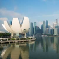 The central business district in Singapore | BLOOMBERG