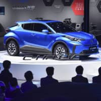 Toyota unveils first electric SUVs at Shanghai motor show