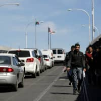 More than 100,000 migrants encountered at U.S. southern border in March: data