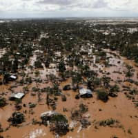 Flooded homes are seen after Cyclone Idai in Buzi district outside Beira, Mozambique, March 21. | REUTERS