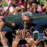 Sri Lankan ex-defense chief Gotabaya Rajapaksa says he will run for president, tackle radical Islam
