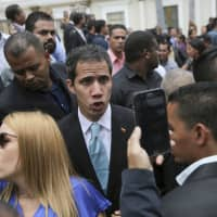 Guaido says imprisoning him could be Maduro's final move, and he has contingency plan