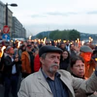 Hungary Holocaust march honors Scottish missionary