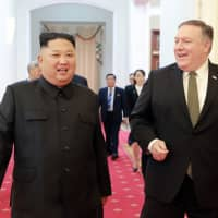 North Korea tests new weapon with 'powerful warhead' and demands Pompeo's removal from nuke talks