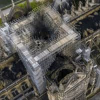 Notre Dame to get temporary wooden cathedral during rebuilding