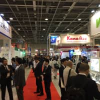 A trade show at the Intex Osaka convention center is packed with visitors earlier this month. Osaka Prefecture hopes to lure more exhibitions and large-scale conferences from home and abroad to boost its economy. | ERIC JOHNSTON