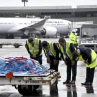 Body of Japanese victim of Sri Lanka Easter terror attack arrives at Narita