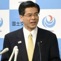 Japan's land minister voids Okinawa's move to halt construction of U.S. base at Henoko