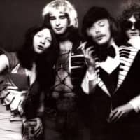 Dressed for success: Mott the Hoople, featuring Morgan Fisher (second from right), made waves in the early 1970s.   NORMAN SEEFF