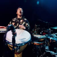 Sasebo boy: Snarky Puppy percussionist Keita Ogawa grew up in Nagasaki Prefecture before moving to the U.S. to pursue a career as a musician. | OSCAR BOYD