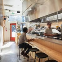 An intimate setting: Konbi's 46-square-meter space has a single counter that seats just 10 at a time. | ALICIA CHO