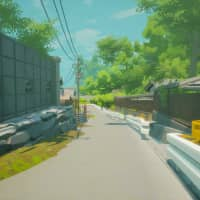 Art imitates life: A still from 'The Inaka Project,' a first-person narrative game that leisurely takes players through Japan's countryside. | COURTESY OF INASA FUJIO