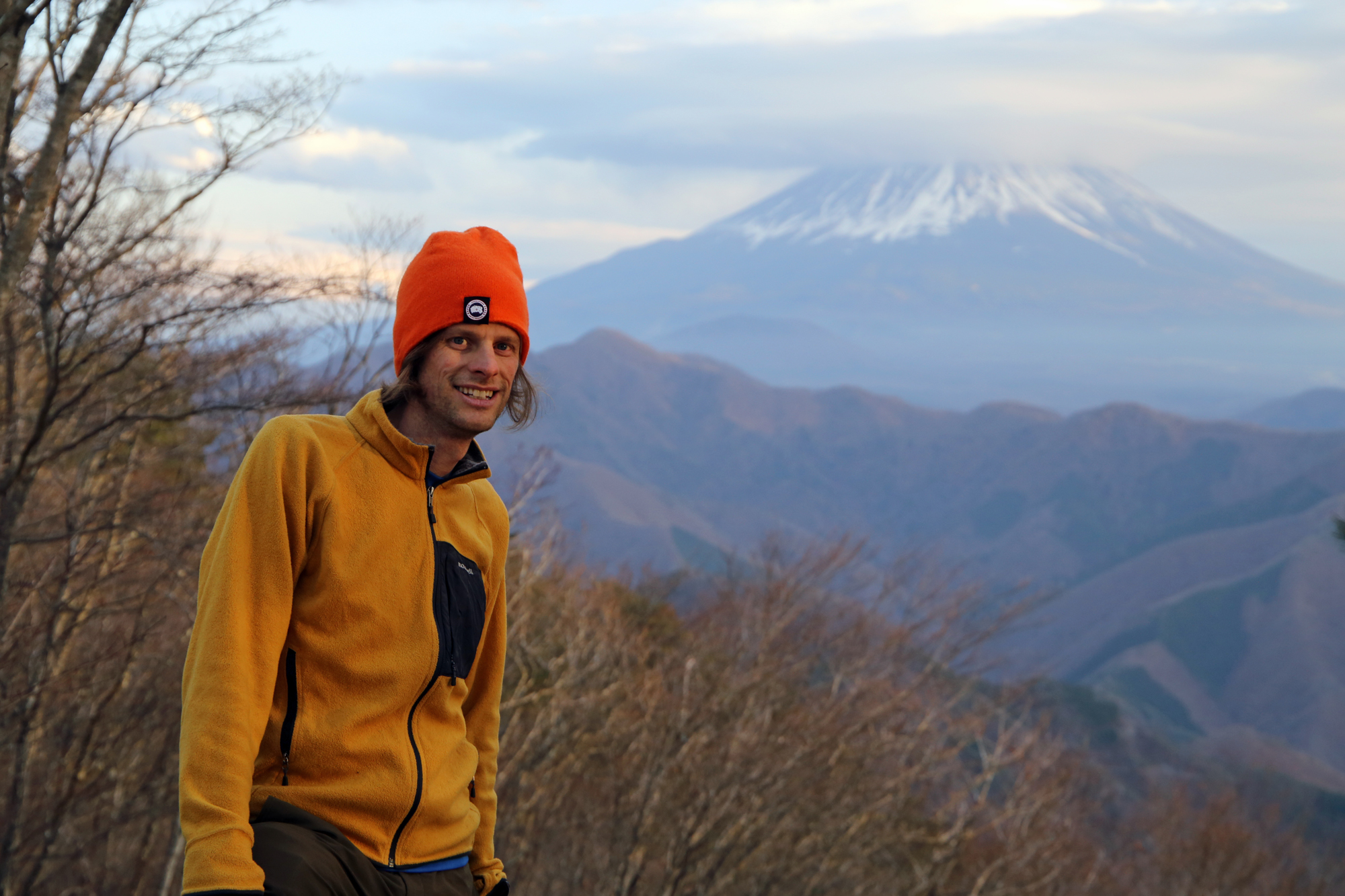 Not your typical mountain climber: Wes Lang, co-author of 'Hiking and Trekking The Japan Alps and Mount Fuji.' | COURTESY OF WES LANG