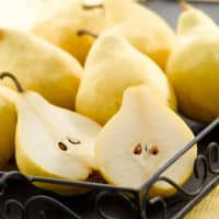 Le Lectier pears are only available in winter.