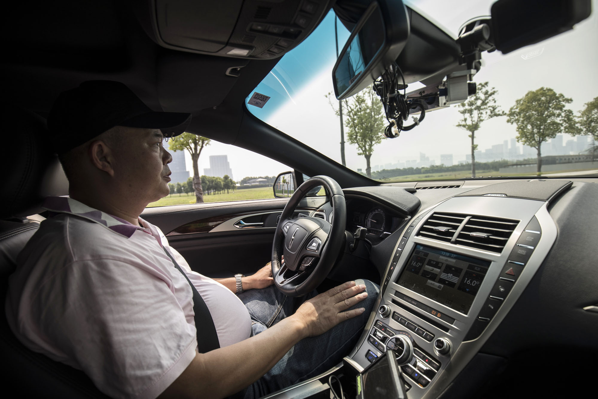 Self-driving cars will have to navigate life-or-death ethical dilemmas. | BLOOMBERG