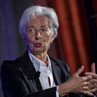 IMF chief Christine Lagarde calls this a 'delicate moment' for the world economy. | BLOOMBERG