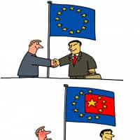 The Chinese have landed in Europe